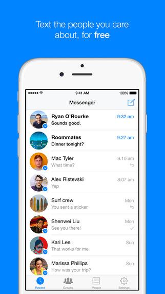 comment afficher les bulles messenger sur iphone