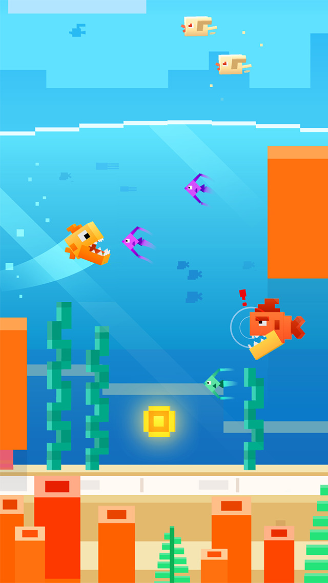 Fishy Bits iOS Screenshots