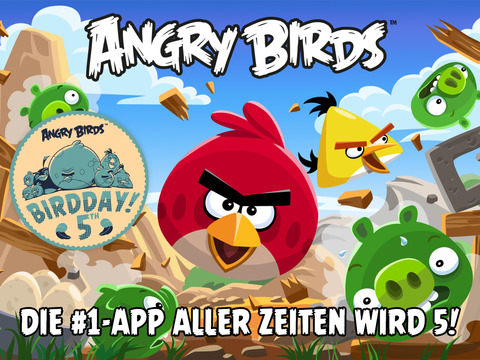 Angry Birds HD iOS Screenshots