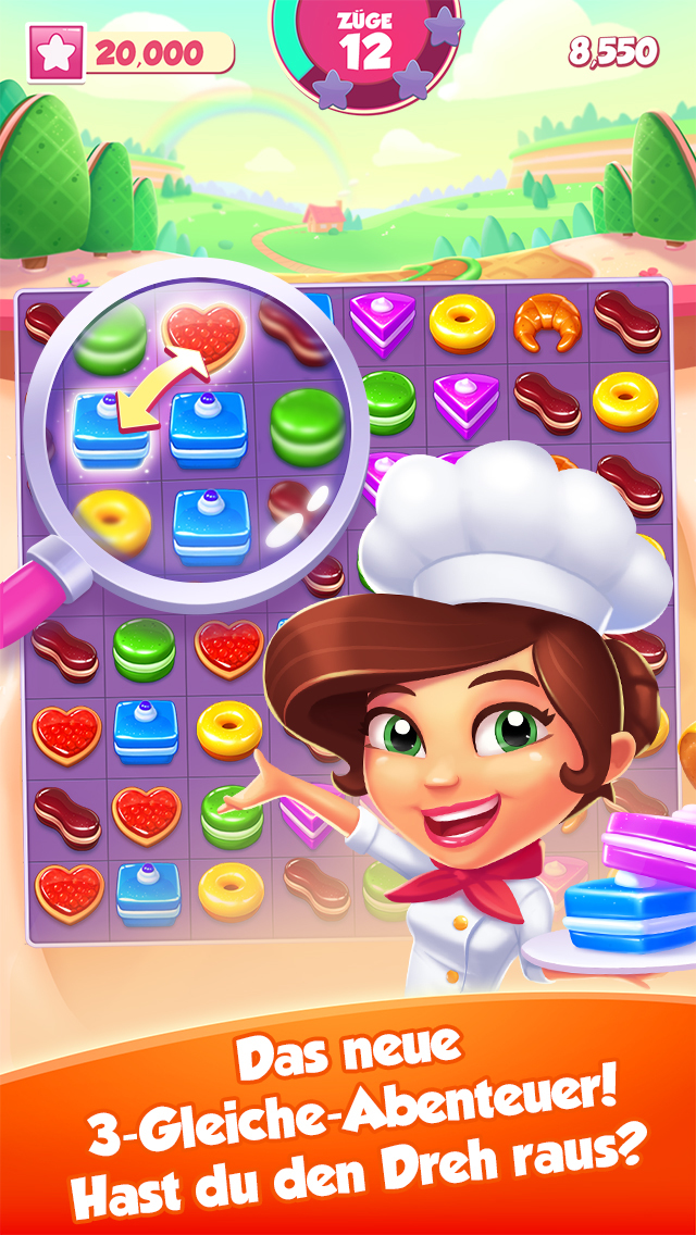 Pastry Paradise iOS Screenshots