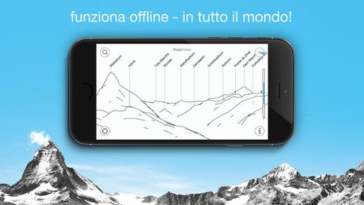 PeakFinder Earth Screenshot