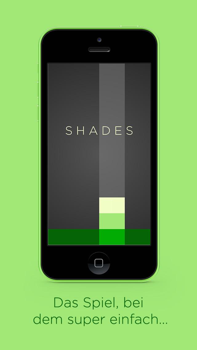 Shades: Ein einfaches Puzzle-Spiel iOS Screenshots
