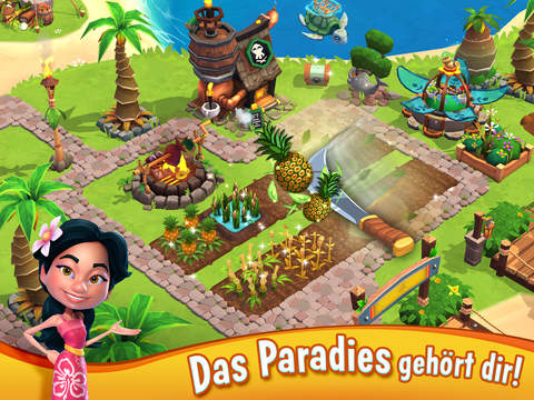 Paradise Bay iOS Screenshots
