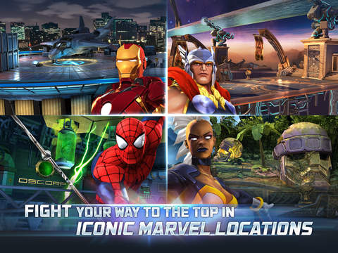 Marvel Contest of Champions iPhone iPad