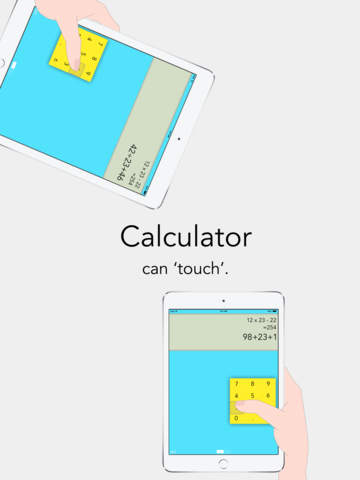 Handy - Calculator design for hand Screenshot