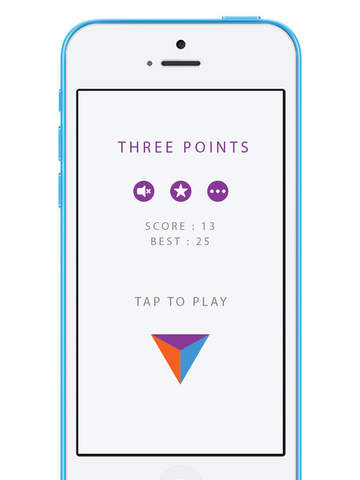 Three Points iOS Screenshots
