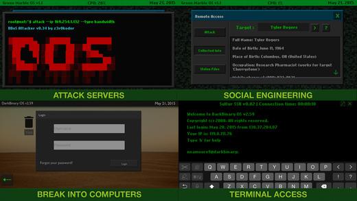 Cyber Hacker Screenshot