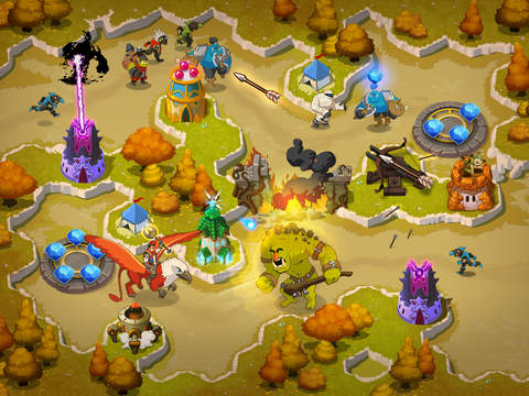 Crystal Siege HD iOS
