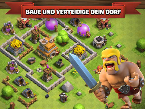 Clash of Clans iOS Screenshots
