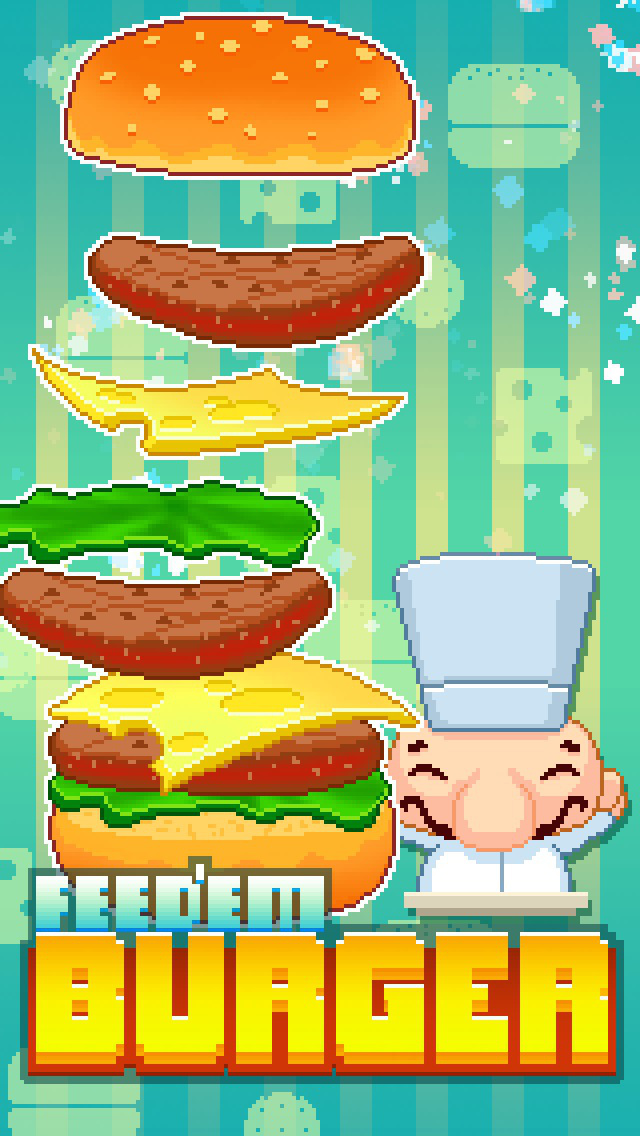 Feed'em Burger iOS Screenshots