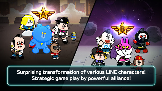 LINE Rangers iPhone iPad
