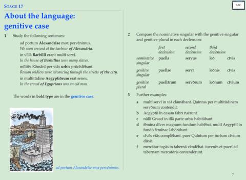Latin cambridge britannia translation