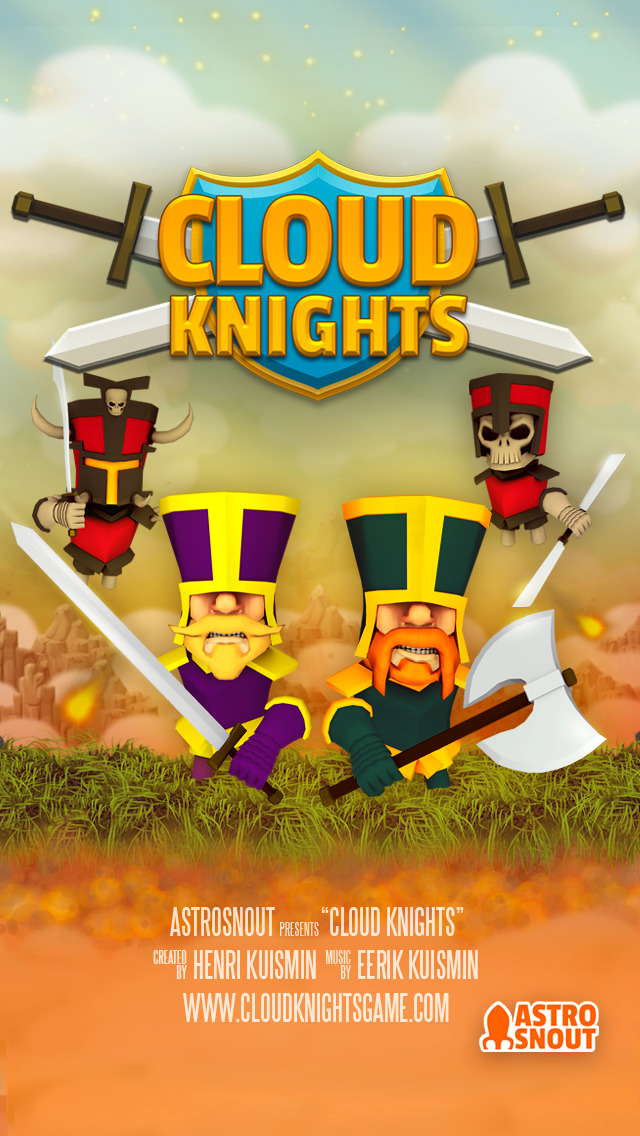 Cloud Knights iOS Screenshots