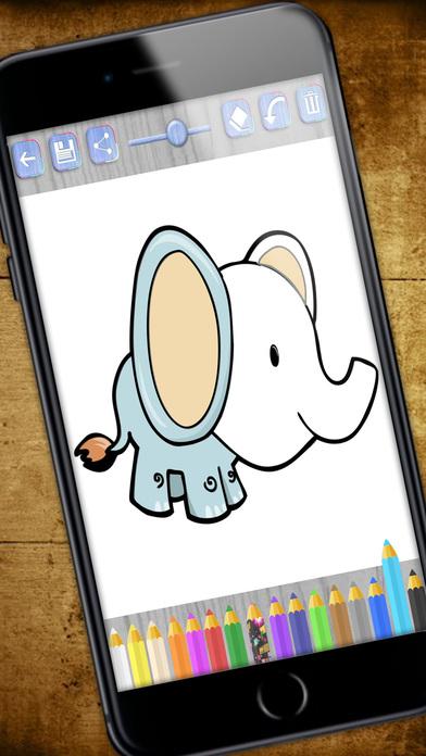Pintar animales mágico - Libro para colorear el zoo Por TRAMBOLIKO ...