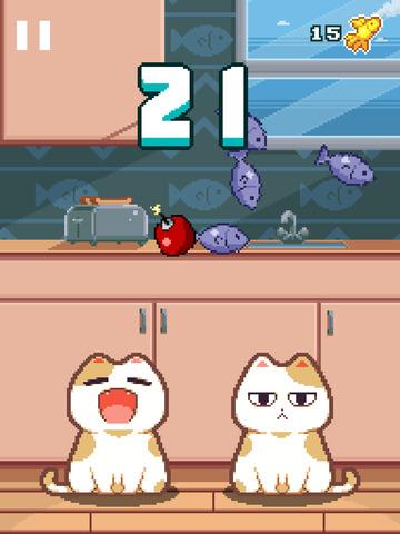 Nom Cat - Das Süße Katzen im Fressrausch Spiel iOS Screenshots