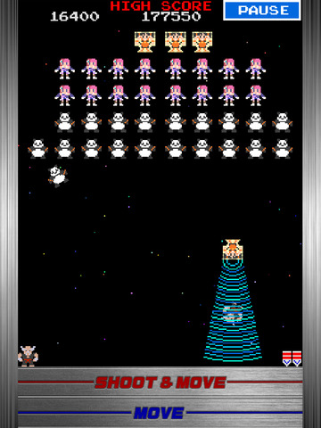 Galaga : TEKKEN 20th Anniversary Edition iPad