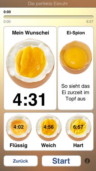 Die perfekte eieruhr f r iphone ipod touch und ipad im - Eier richtig kochen ...