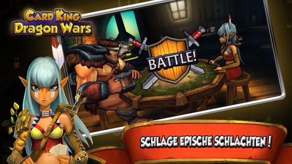 Card King: Dragon Wars iPhone iPad
