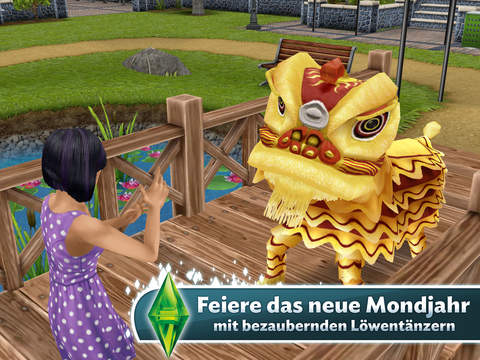 Screenshot 3 Die Sims™  FreePlay