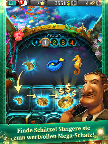 Slot Raiders - The great Treasure Quest iOS Screenshots