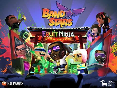 Band Stars iOS Screenshots