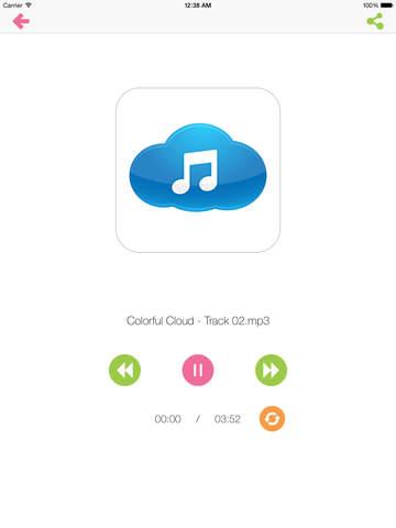 DTunes - Dropbox Music Player iPad