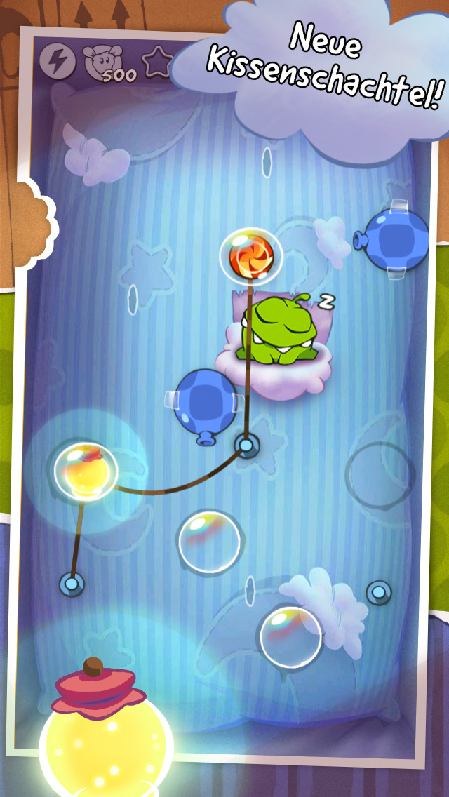 Cut the Rope Original iOS Screenshots
