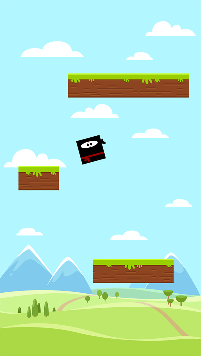Mini Jump iOS Screenshots
