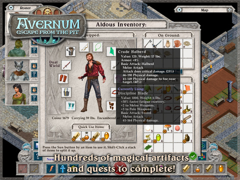 Avernum 2: Crystal Souls HD iOS