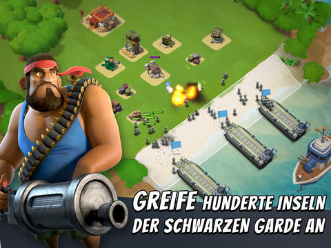 Boom Beach iPhone iPad