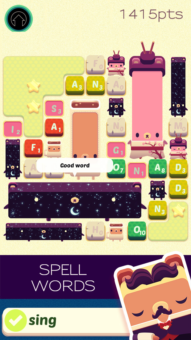 Alphabear: Word Puzzle Game iOS Screenshots