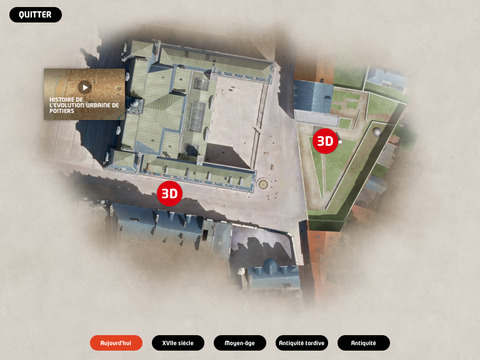3D Poitiers évolution