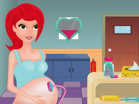 Беременные мультики рожают