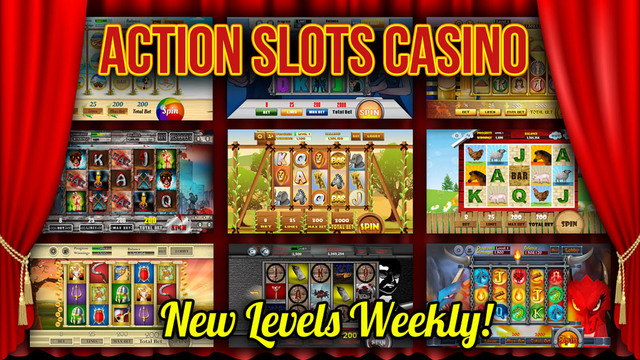 Action Slots Casino - Multi-Level Multi-Player Progressive Machines Screenshot