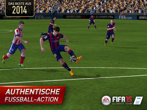 FIFA 15 Ultimate Team™ New Season iOS Screenshots
