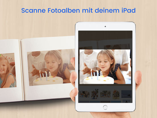 Mobiler Foto Album Scanner - Unfade Pro Screenshot
