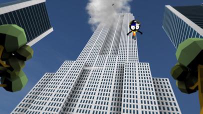Screenshot 3 Stickman Base Jumper 2