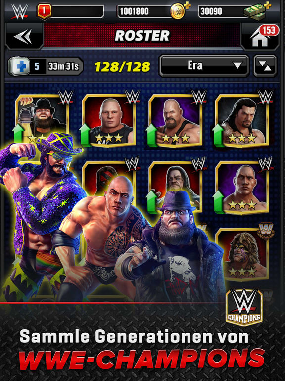 WWE Champions - NEW RPG Puzzle Game Screenshot