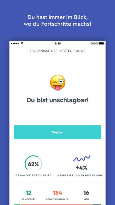 Quizlet Lerne Vokabeln u Sprachen mit Karteikarten Screenshot