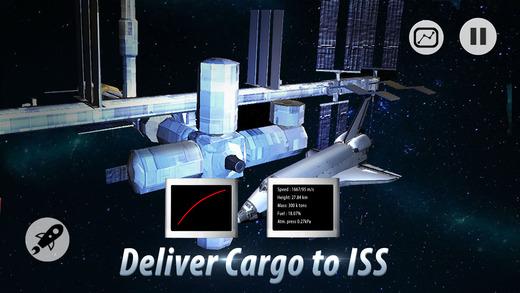 Space Shuttle Pilot Simulator 3D Full Screenshots