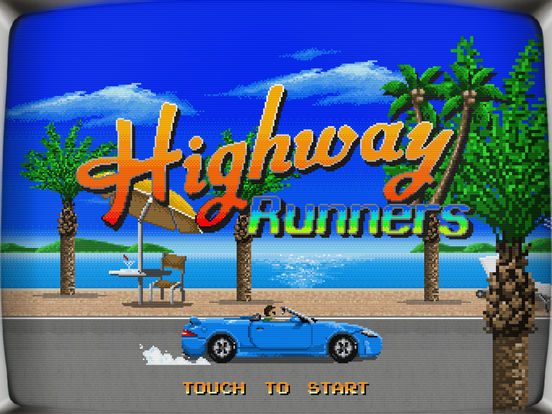Highway Runners iOS Screenshots
