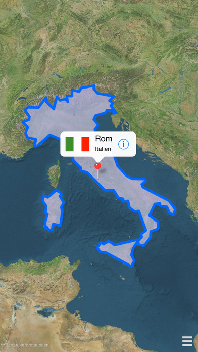 Länder in Europa Screenshot