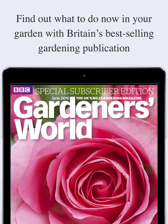 BBC Gardeners World Magazine on the App Store