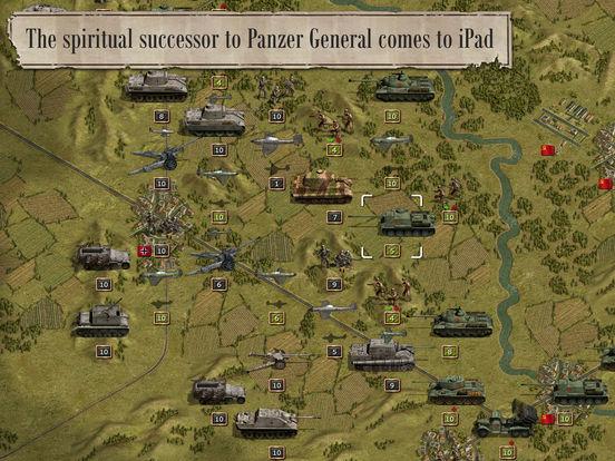 Panzer Corps Lite iOS Spiel