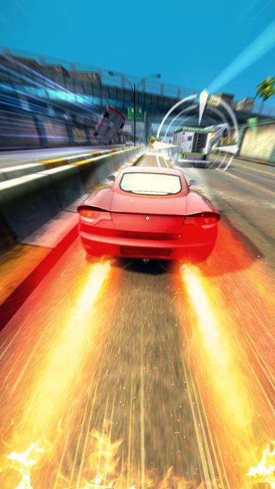 Highway Getaway: Polizei jagen - Rennspiel iOS Screenshots