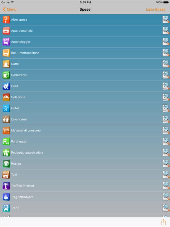 JSmart Nota Spese Screenshot