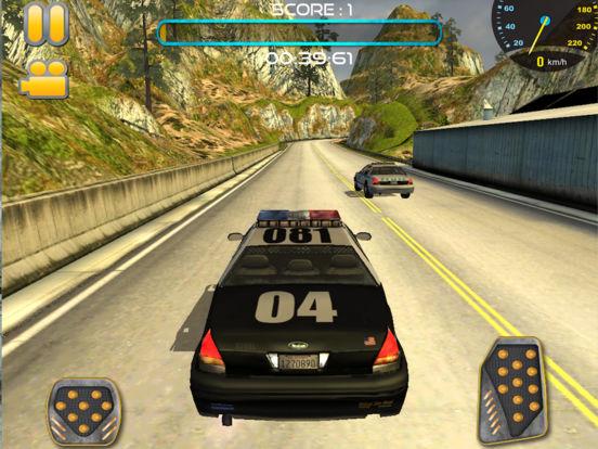 Traffic Police Car Driving & 3D Racing Screenshots