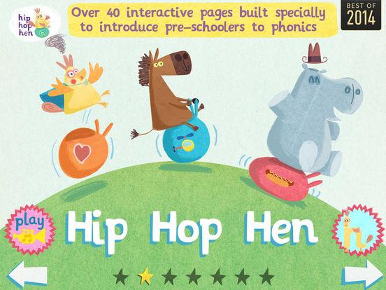hip hop hen: abc flashcard songs iPad