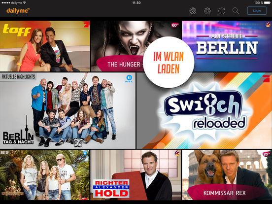 dailyme TV – Serien, Filme & Shows für unterwegs Screenshot