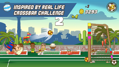 Super Crossbar Challenge iOS Screenshots